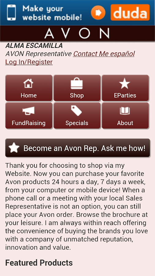 AVON Buy & Sell - screenshot