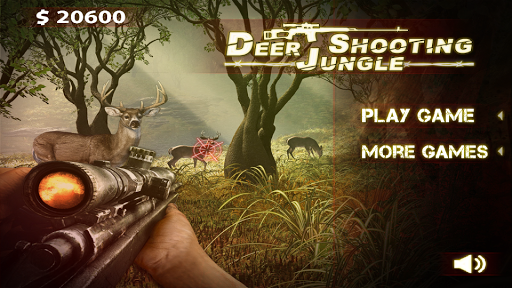 Deer Jungle Shooting - Hunting