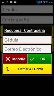 Tappsi Taxista - screenshot thumbnail