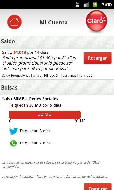 Mi Portal Claro - screenshot