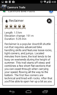 Bow Valley Mountain Bike Guide- screenshot thumbnail