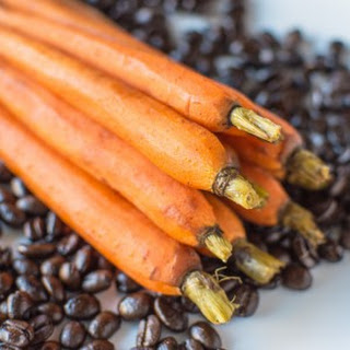 Coffee and Maple Roasted Carrots