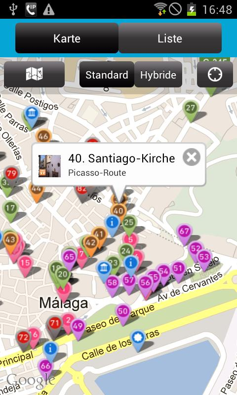 Audio Tour Offizielle Malaga – Screenshot