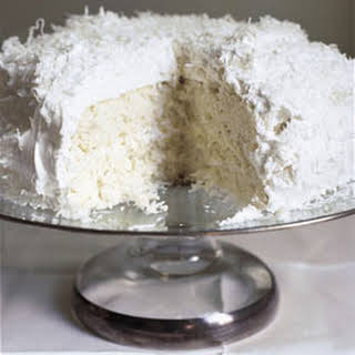 Ono Coconut Cake with Coconut Frosting.