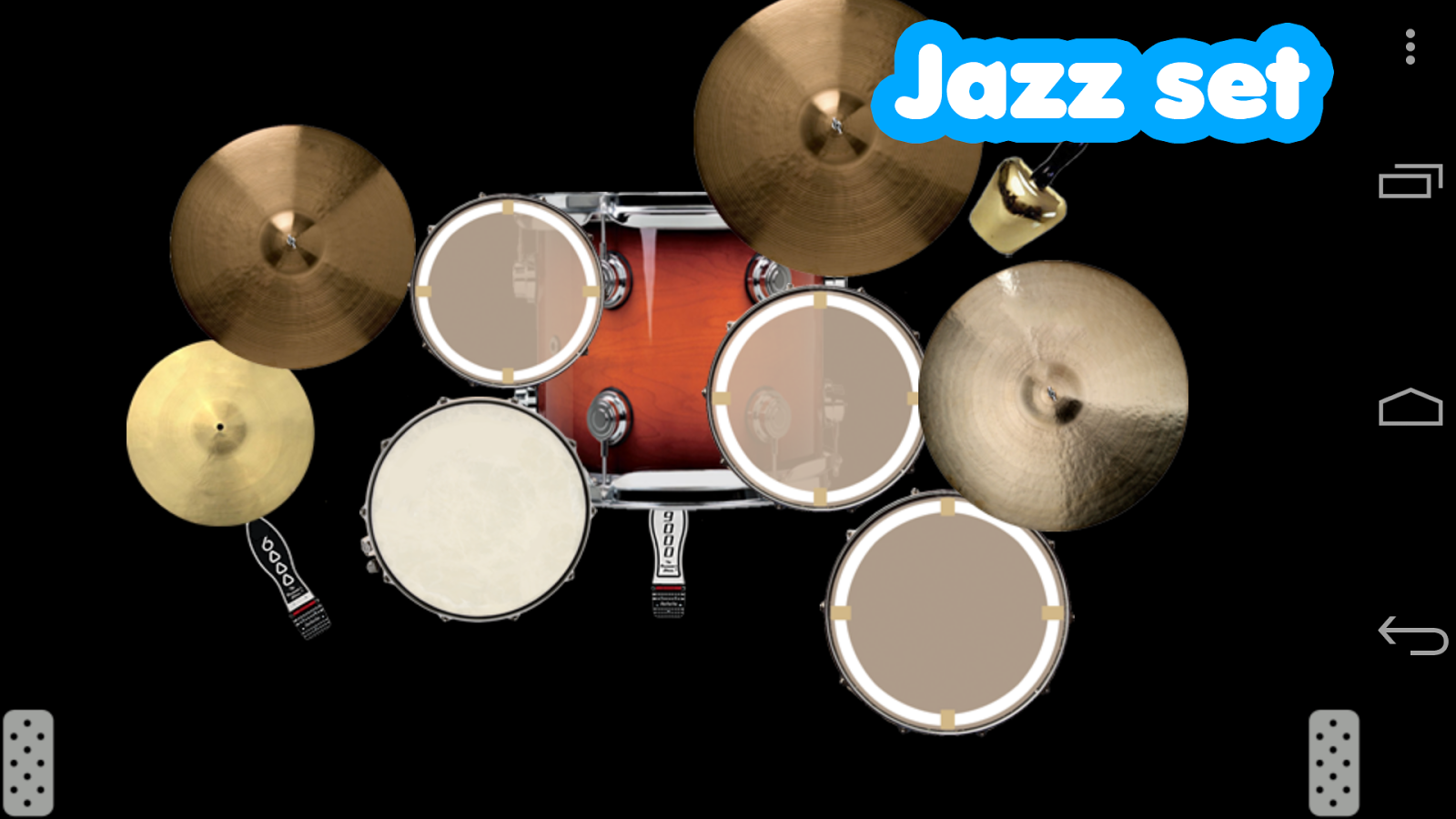 Drum set - screenshot