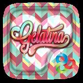 Gelatina GO Launcher Theme