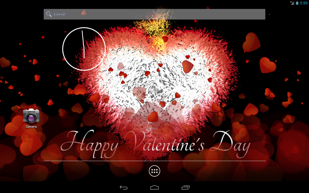 Valentine's Day Free LWP- screenshot