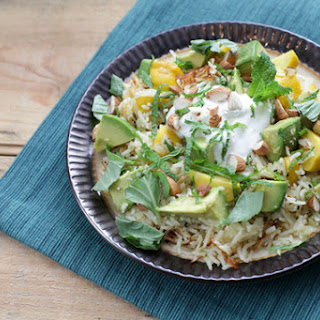 Aromatic Basmati Rice Pilaf with Baby Pattypan Squash Recipe