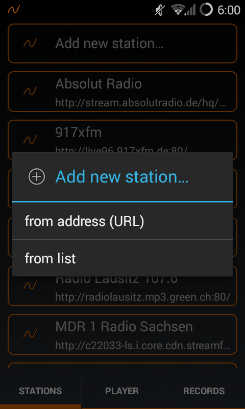 MR Recorder - Radio Streaming- screenshot