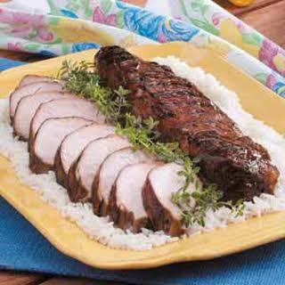 Grilled Pork Tenderloins.