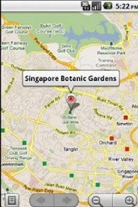 Singapore Holiday Guide GPS screenshot 5