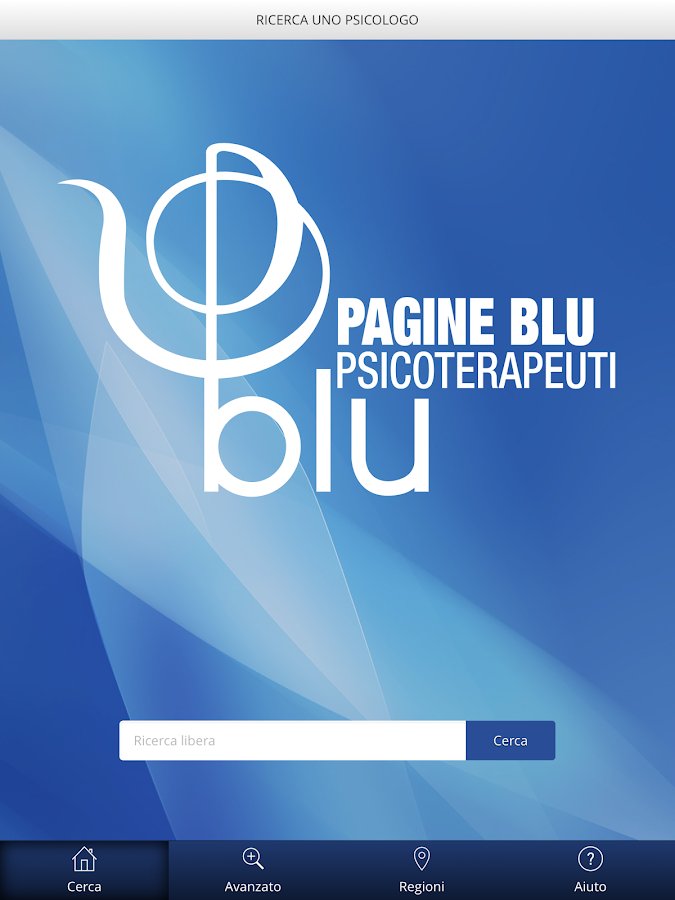 Pagine Blu- screenshot