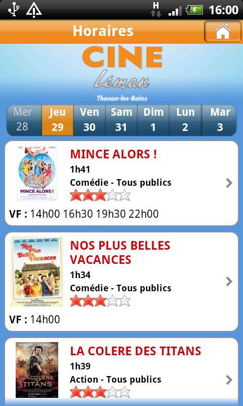 Ciné Léman et Cinéma - screenshot