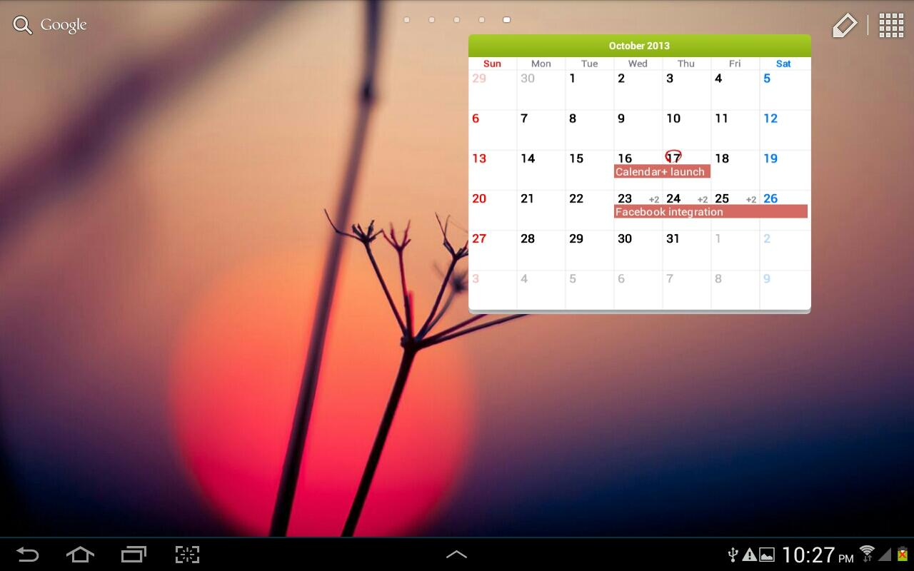 Calendar+ Free - screenshot