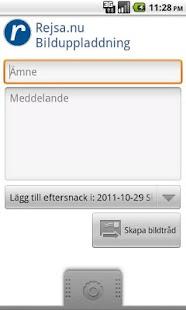 Rejsa Bilduppladdning- screenshot thumbnail