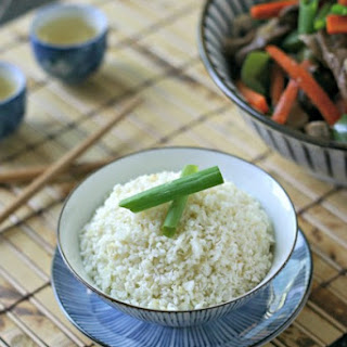 Ginger Coconut Cauliflower Rice