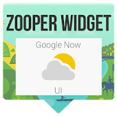 Google Now UI - Zooper Skin