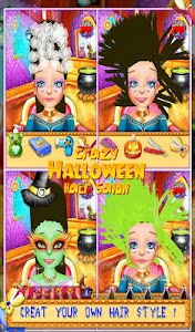 Crazy Halloween Hair Salon v5.1