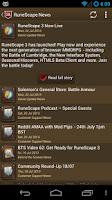 Screenshot of RuneScape SwiftKit Mobile Lite