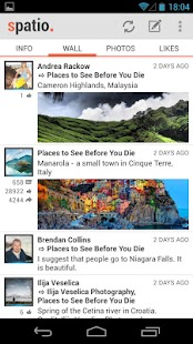Spatio (Facebook client) - screenshot thumbnail