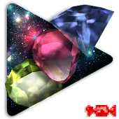 Colored Gems Live Wallpaper