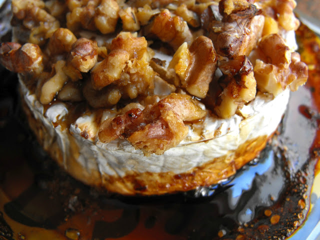 Camembert with Honey and Walnuts Recipe