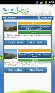 3akarat - Real estate Lebanon - screenshot thumbnail