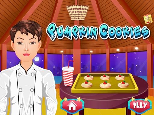 南瓜饼干烹饪游戏