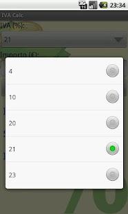 IVA Calc (Italian VAT Calc) - screenshot thumbnail