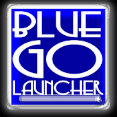 Blue Glass GOLauncher Theme