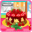 Strawberry Cheesecake Cooking icon
