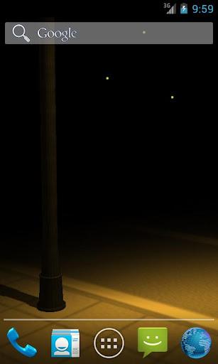 路燈動態桌布