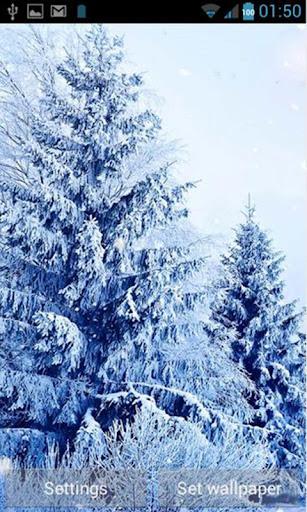 【免費攝影App】Snowfall Free Live Wallpaper-APP點子