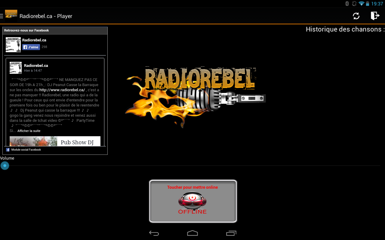 Radiorebel- screenshot