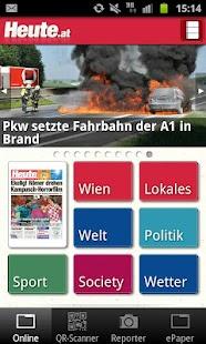 Heute - Die Tageszeitung - screenshot thumbnail