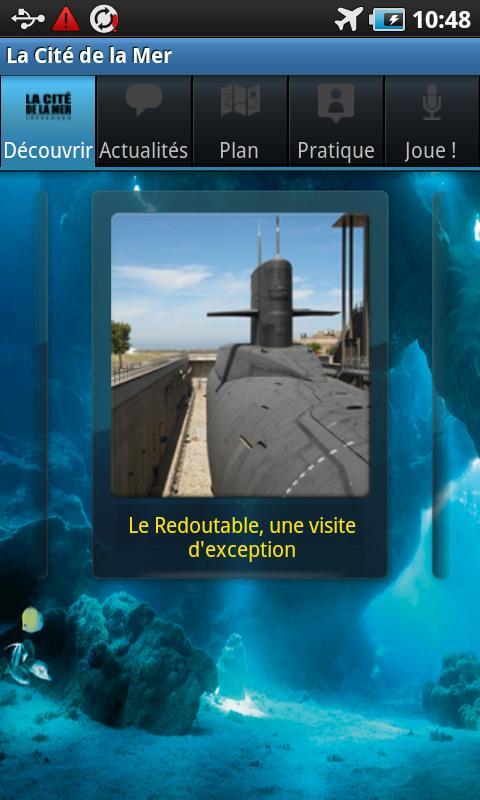La Cité de la Mer- screenshot