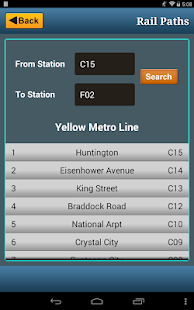 Washington DC Metro RAIL & BUS- screenshot thumbnail
