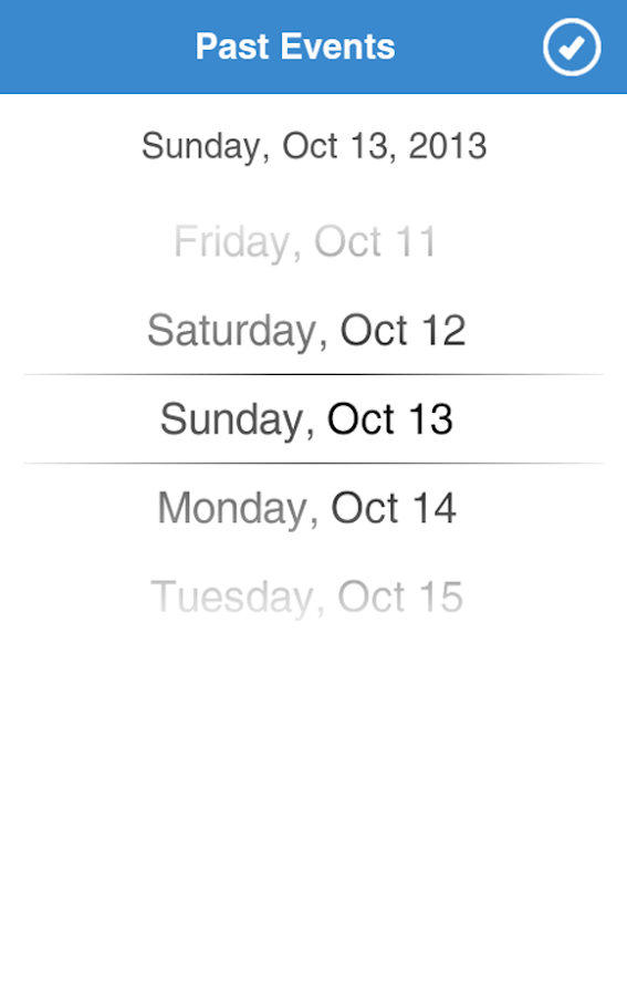 Chicago Events - screenshot