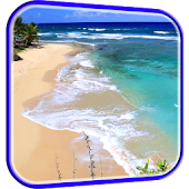 Waves on Beach Live Wallpaper