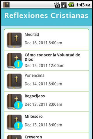Reflexiones Cristianas - screenshot