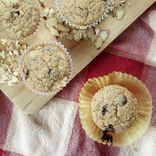 Gluten Free Oatmeal Chocolate Chip Muffins