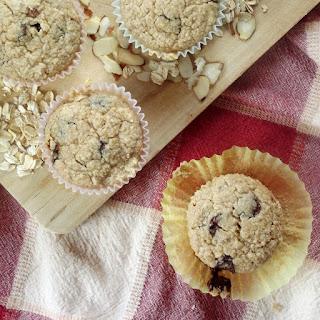 Gluten Free Oatmeal Chocolate Chip Muffins.