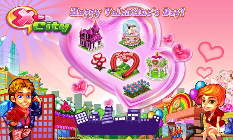 X City - Valentine's Day - screenshot
