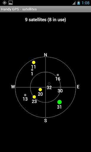 Handy GPS (free) 27.7 screenshots 7