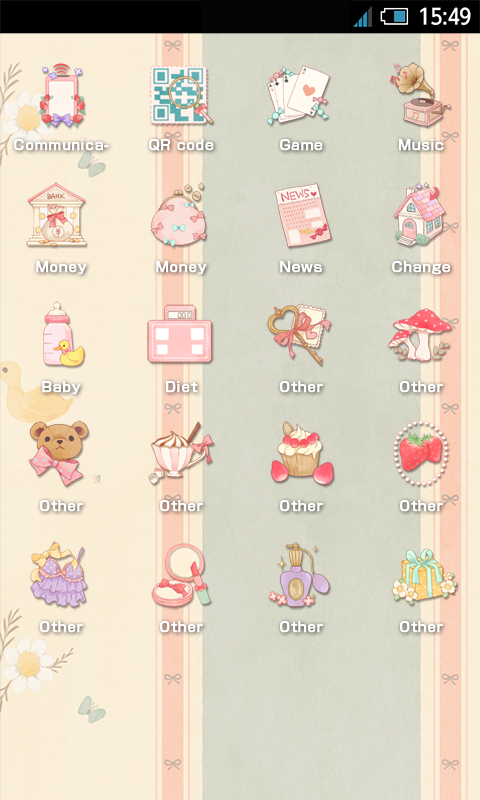 SWEET Icon Change *strawberry* - screenshot