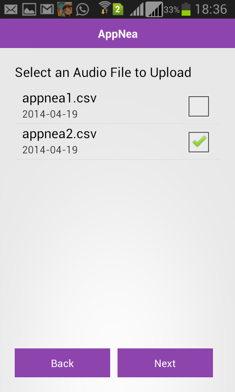 Zee AppNea- screenshot