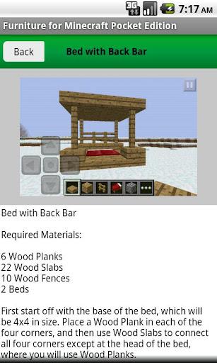 Furniture for Minecraft PE