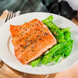 Hoisin-Glazed Salmon.