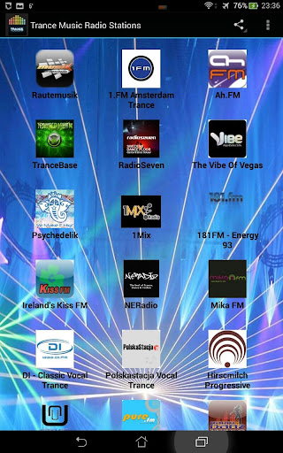 Trance Music Radio Stations