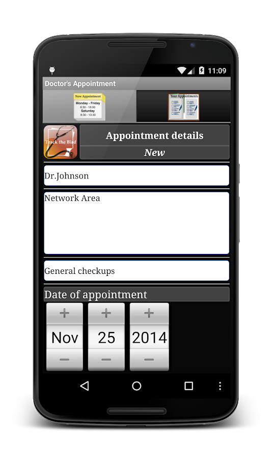 Doctor's Appointment Lite- screenshot